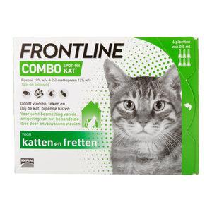 Frontline Combo Kat – 6 pipetten
