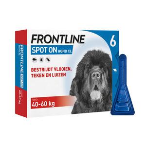 Frontline Spot On hond XL (40-60 kg) - 6 pip.