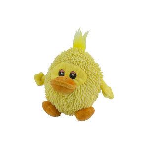 Fuzzle Eend met Squeaker – 17 cm
