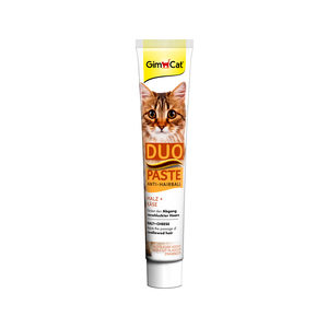 Gimcat Anti-hairball Duo-paste – Cheese & Malt – 50 gr