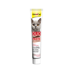 Gimcat Anti-hairball Duo-paste – Chicken & Malt – 50 gr