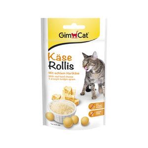 GimCat Kaas-Rollies - Naturel - 140 gram