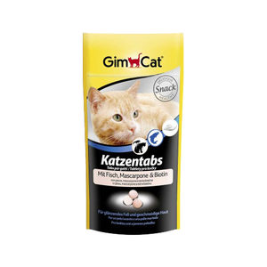 GimCat Kattentabs - Vis en Mascarpone - 40 gram