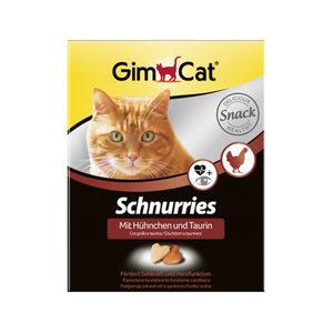GimCat Schnurries - Kip en taurine - 420 gram