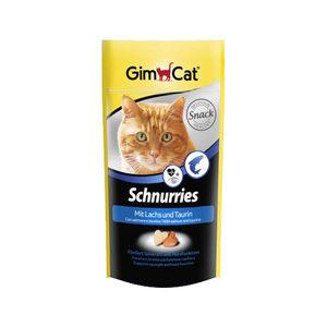 GimCat Schnurries - Zalm en taurine - 40 gram