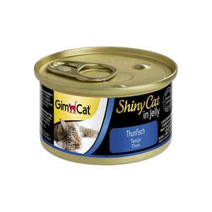GimCat ShinyCat in Jelly - Tonijn - 24 x 70 gram