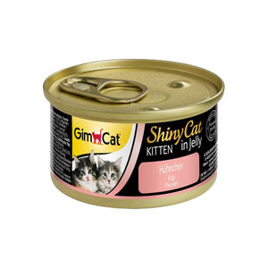GimCat ShinyCat Kitten in Jelly - Kip - 24 x 70 gram