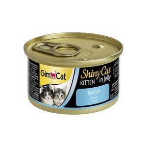 GimCat ShinyCat Kitten in Jelly Tonijn 24 x 70 gram