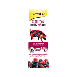 GimCat Superfood Immunity Duo-Paste – 50 gram