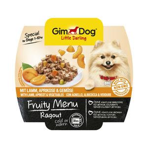 GimDog Fruity Menu Ragout - Lamm, Aprikose & Ge...