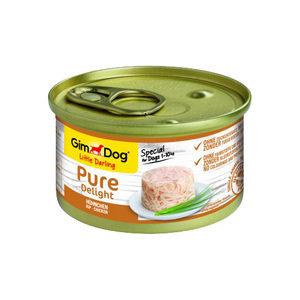 GimDog Pure Delight - Kip - 12 x 85 gram