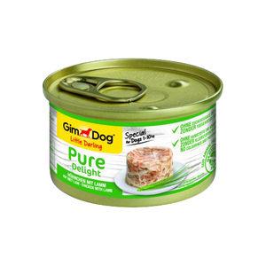 GimDog Pure Delight - Huhn mit Lamm - 12 x 85 g