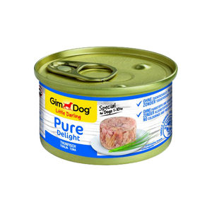 GimDog Pure Delight - Tonijn - 12 x 85 gram