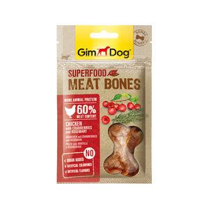 GimDog Superfood Meat Bones – Kip, Cranberries & Rozemarijn – 70 g
