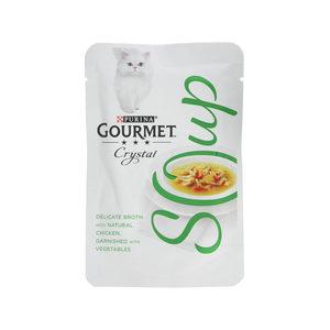 Purina Gourmet - Soup Kip & Groente - 32 x 40 g