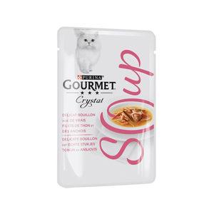 Purina Gourmet - Soup Tonijn & Ansjovis - 32 x 40 g