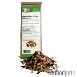 GRAU Gedroogde Groenten Melange Nr. 2 – 1,2 kg