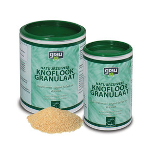GRAU Knoflookgranulaat – 400 gram