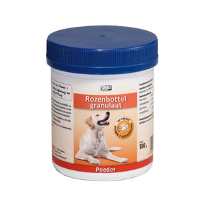 GRAU Rozenbottel Granulaat - 100 gram