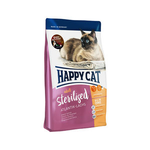 Happy Cat - Adult Sterilised - Atlantik-Lachs (Zalm) - 10 kg