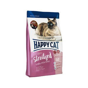 Happy Cat - Adult Sterilised - Voralpen-Rind (Rund) - 10 kg