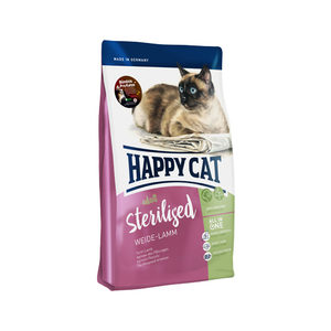 Happy Cat - Adult Sterilised - Weide-Lamm (Weidelam) - 4 kg