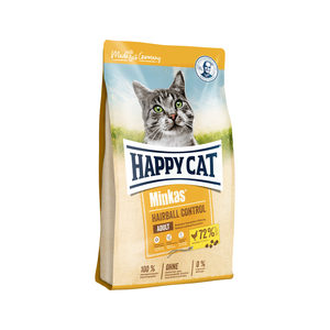 Happy Cat Minkas Adult Hairball Control Gevogelte - 4 kg