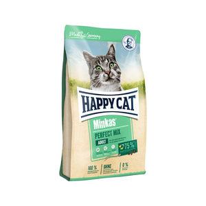 Happy Cat Perfect Mix Adult Gevogelte, Lam & Vis – 10 kg