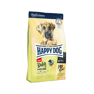 Happy Dog Baby Giant Lamb & Rice (Lam & Rijst) - 4 kg