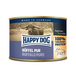 Happy Dog Buffel Pur - buffelvlees - 12x200g