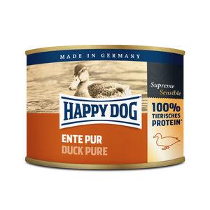 Happy Dog Ente Pur - eendenvlees - 12x200g