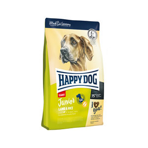 Happy Dog Junior Giant Lamb & Rice (Lam & Rijst) – 4 kg