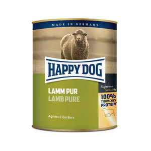 Happy Dog Lamm Pur - lamsvlees - 6x800g