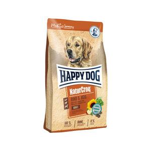 Happy Dog NaturCroq Rind & Reis (Rund en Rijst) – 12 kg