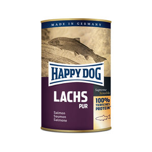 Happy Dog Pure Zalm - 12 x 400 g