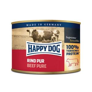 Happy Dog Rind Pur - rundvlees - 12x200g