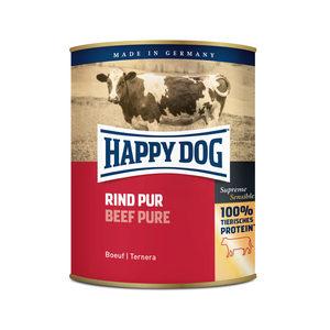 Happy Dog Rind Pur - rundvlees - 6x800g