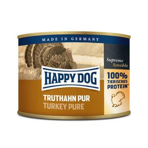 Happy Dog Truthahn Pur - kalkoenvlees- 12x200g