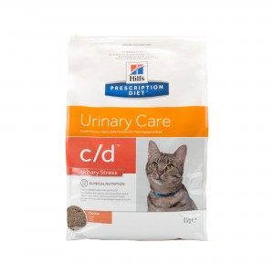Hill's c/d - Urinary Care - Urinary Stress - Feline - Chicken 8 kg