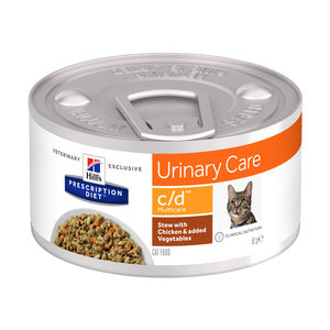Hill's c/d Multicare Stoofpotje – Prescription Diet – Feline – 24 x 82 g