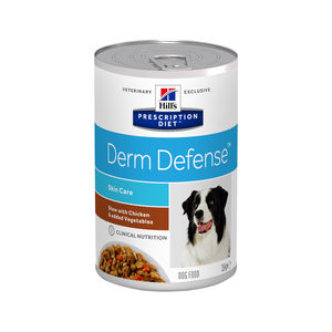 Hill's Derm Defense Stoofpotje - Prescription Diet - Canine - 12 x 354 g