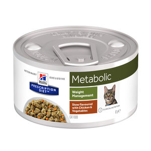 Hill's Metabolic Stoofpotje – Prescription Diet – Feline – 82 g
