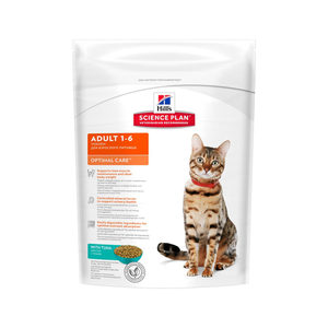 Hill's science plan feline adult optimal care toni