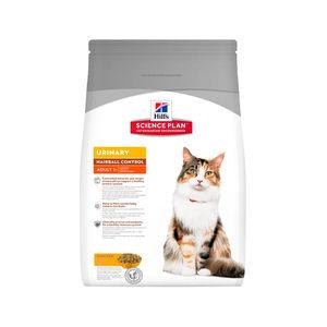 Hill's Science Plan - Feline Adult - Urinary Health - Hairball 1.5 kg