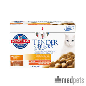 Hill's science plan feline pouch adult multipack g