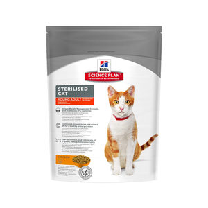 Hill's Feline Adult Sterilised Cat Kip 300 g Kattenvoer