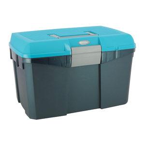 Hippotonic Poetskoffer – Marineblauw / Turquoise