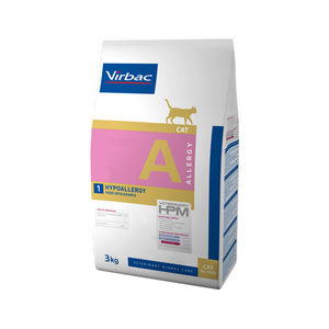 Veterinary HPM Dietetic Cat - Allergy A1 Insect - 3 kg