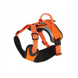 Hurtta Dazzle Harness - Oranje - 80/100 cm