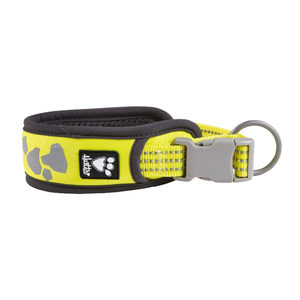 Hurtta Weekend Warrior Collar - 35/45 cm - Neon Lemon